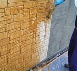 リリースパウダー水溶液塗布